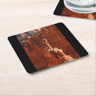 Bryce Canyon Square Paper Coaster