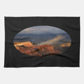 Bryce Canyon storm Hand Towel