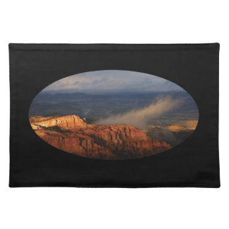 Bryce Canyon storm Placemat
