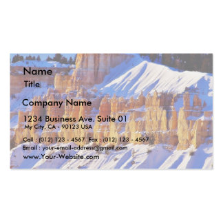 Bryce Canyon Sunrise 3 Double-Sided Standard Business Cards (Pack Of 100)