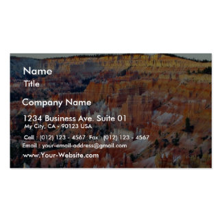 Bryce Canyon Sunrise 4 Double-Sided Standard Business Cards (Pack Of 100)