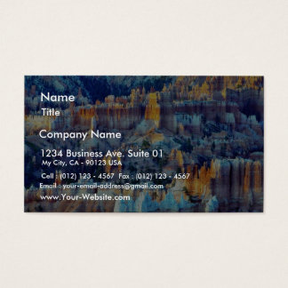 Bryce Canyon Sunrises Business Card