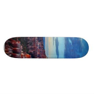 Bryce Canyon Sunrises Clouds Skate Board