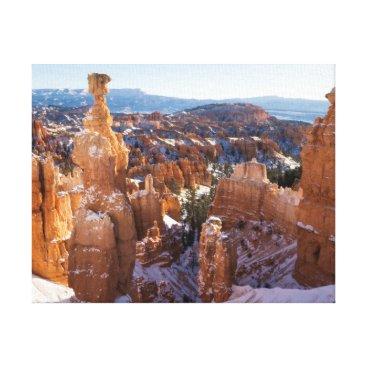 Art Themed Bryce Canyon, Thor's Hammer Canvas Print