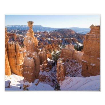 Art Themed Bryce Canyon, Thor's Hammer Photo Print