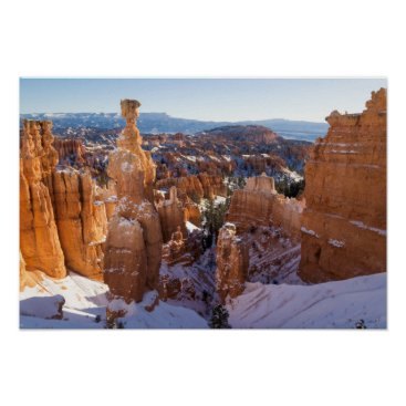 Art Themed Bryce Canyon, Thor's Hammer Poster