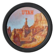 Bryce Canyon - UT (USA) Poker Chip Set