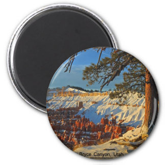 Bryce Canyon, Utah 2 Inch Round Magnet