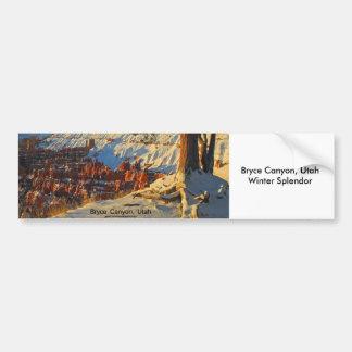 Bryce Canyon, Utah Car Bumper Sticker