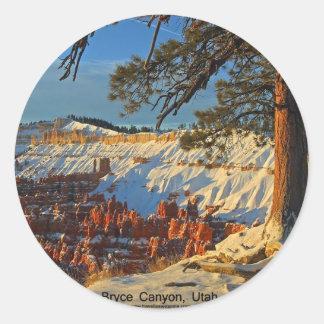 Bryce Canyon, Utah Classic Round Sticker