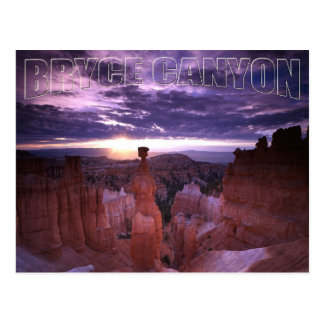 Bryce Canyon Utah National Park Thor's Hammer Postcard