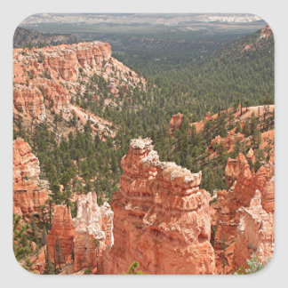 Bryce Canyon, Utah, USA 10 Square Sticker