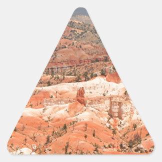 Bryce Canyon, Utah, USA 18 Triangle Sticker