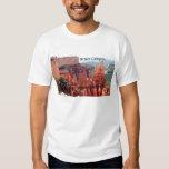 Bryce Canyon, Utah, USA 5 (caption) Tshirt