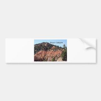 Bryce Canyon, Utah, USA 7 (caption) Bumper Sticker