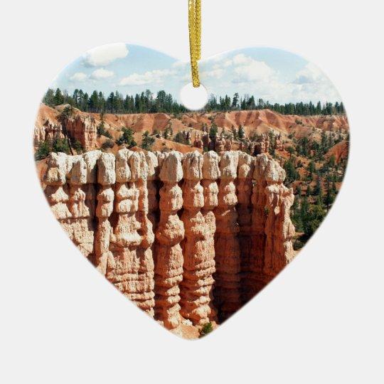 Bryce Canyon, Utah, USA Ceramic Ornament