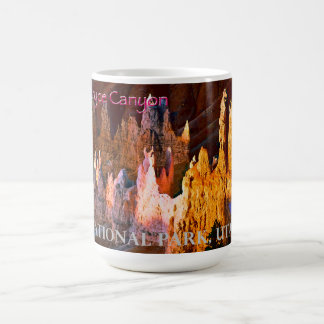 Bryce Canyon Vintage Style Classic White Coffee Mug
