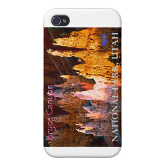 Bryce Canyon Vintage Style iPhone 4 Cases