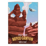Bryce Canyon vintage travel poster