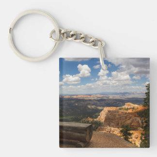 Bryce Canyon Vista Square Acrylic Keychains