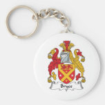 Bryce Family Crest Key Chains