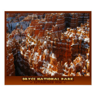 Bryce National Park Poster