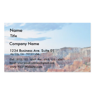 Bryce Sunrise Double-Sided Standard Business Cards (Pack Of 100)