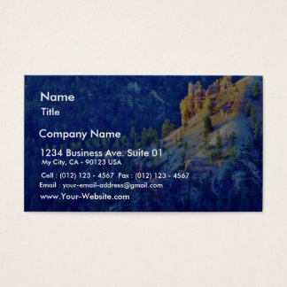 Bryce Sunrises Forests Business Card