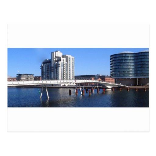 Bryggebroen Postcard