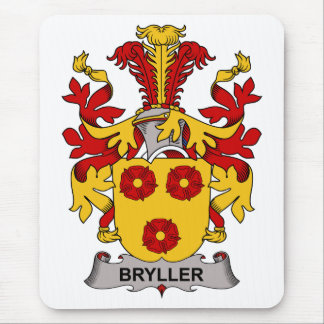 Bryller Family Crest Mouse Pad