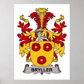 Bryller Family Crest Print