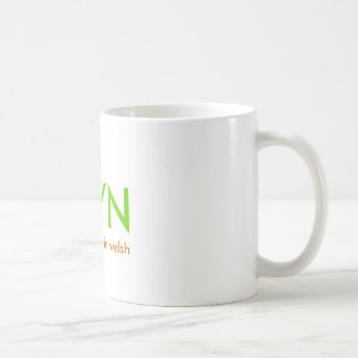 BRYN, significa la colina en galés Taza De Café