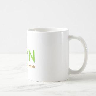 BRYN significa la colina en galés Taza De Café
