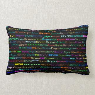 Brynn Text Design I Lumbar Pillow