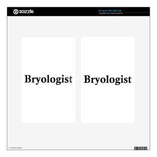 Bryologist Skin For Kindle Fire