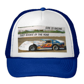 Bryon Sipe 2007 Rookie of the Year Hat