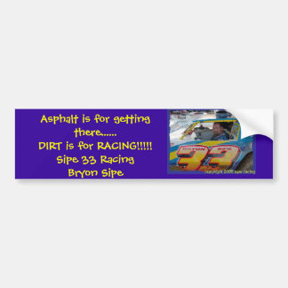 Bryon Sipe Bumper Sticker
