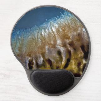 Bryozoa pattern gel mouse pad