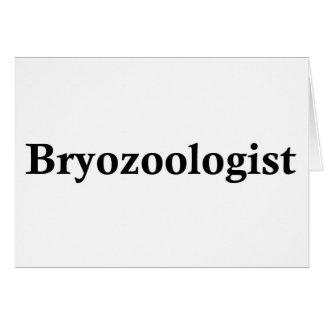 Bryozoologist Greeting Card