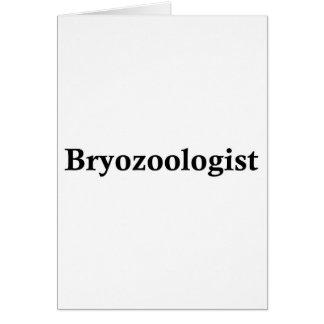 Bryozoologist Greeting Cards