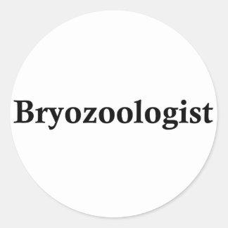 Bryozoologist Classic Round Sticker