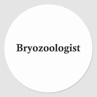 Bryozoologist Etiquetas Redondas