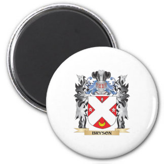 Bryson Coat of Arms - Family Crest 2 Inch Round Magnet