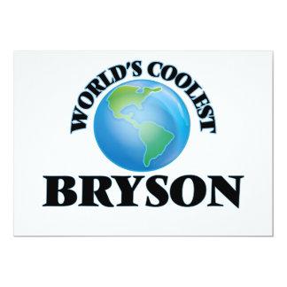 """Bryson más fresco del mundo invitación 5"""" x 7"""""""