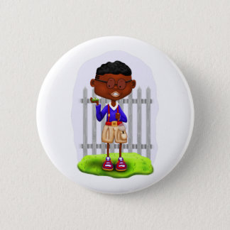 Bryson the Explorer Pinback Button