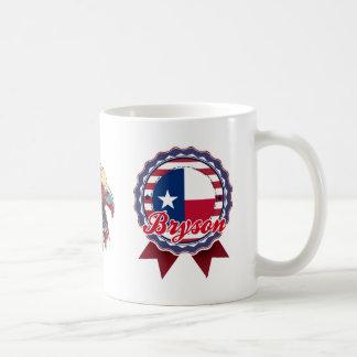 Bryson, TX Classic White Coffee Mug