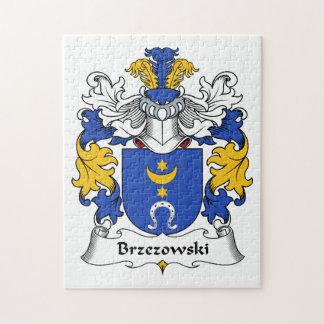 Brzezowski Family Crest Puzzle
