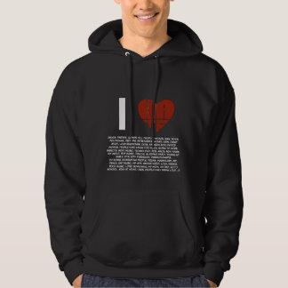 BS5* Words Collection Hooded Sweatshirt