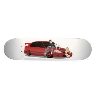 BS Barker Skateboards Tuner Series.