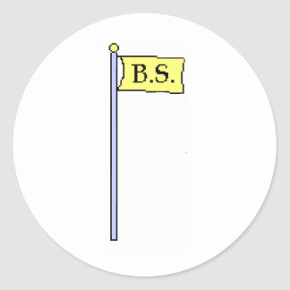 BS Flag Stickers